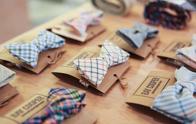 Bay Cooper bow ties at Gerhard Supply