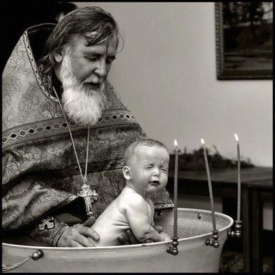 Now THAT'S a baptism