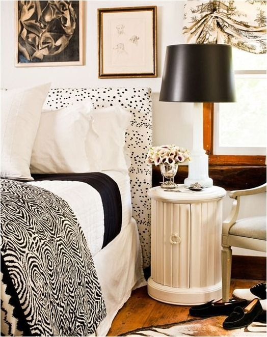 Decorating with Black & White by centsationalgirl