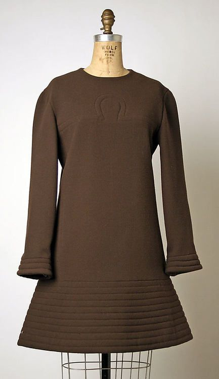 pierre cardin dress via the costume institute of the metropolitan museum of art - Pierre Cardin Costume Mariage