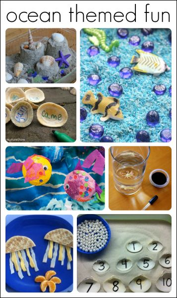preschool ocean theme ideas and activities 1