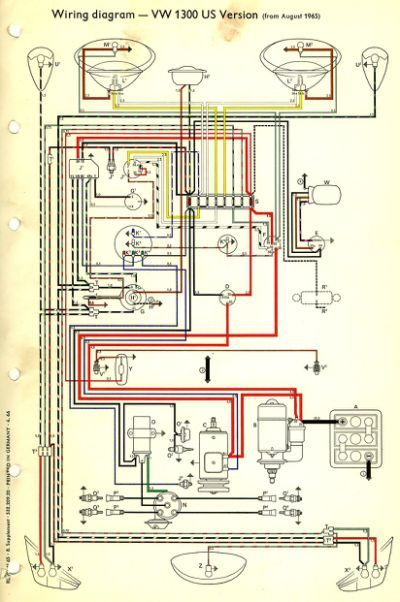Thesamba Com    Type 1 Wiring