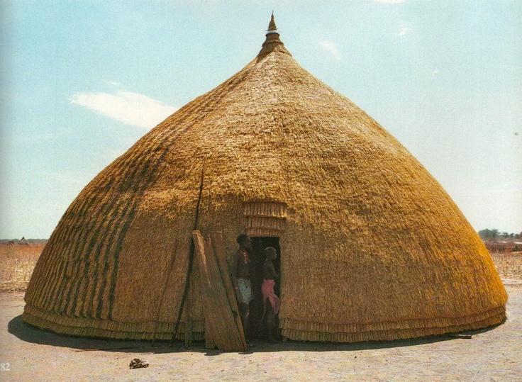 Vivienda tipica Sudan, 1979.