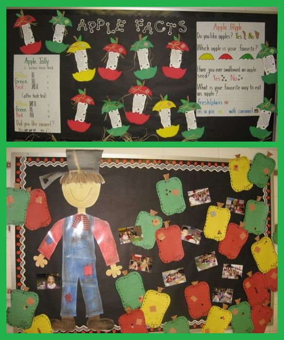 Bushels of Apple Fun! - September Bulletin Board Idea