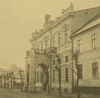 Płock - Fotogaleria miasta Płocka - XIX w. - 1939 r./Kasyno oficerskie 46 Pierejesławskiego pułku dragonów. (1898)