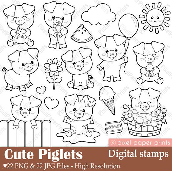 Alice in Wonderland Part 2  Digital Stamps  Clipart