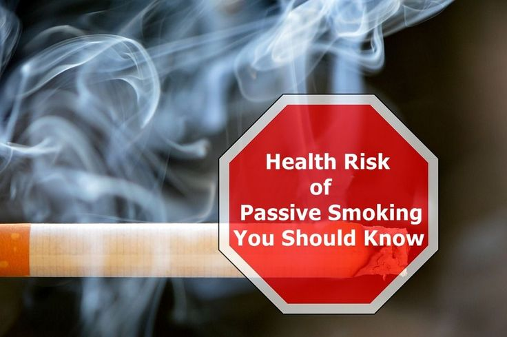 Health Risk of Passive Smoking You Should Know