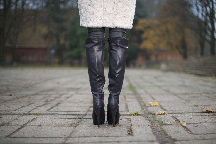 overknee boots kozaki za kolano