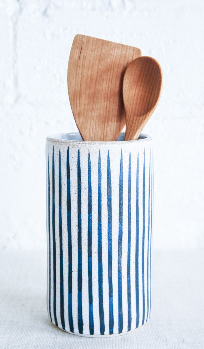 MQuan Indigo Stripe Ceramic Vase                                                                                                                                                      More