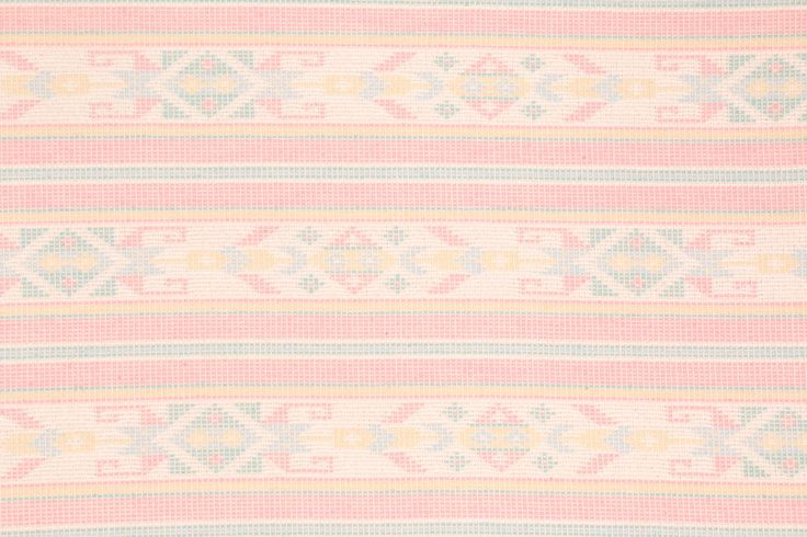 Southwestern Stripe Tapestry Upholstery Fabric in Pastels