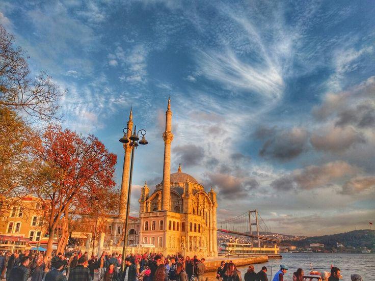 Ortaköy Camii Beşiktaş İstanbul Türkiye