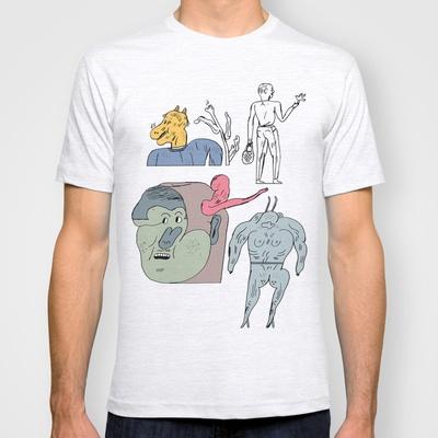 jikjikjik T-shirt by Jon Boam - $18.00