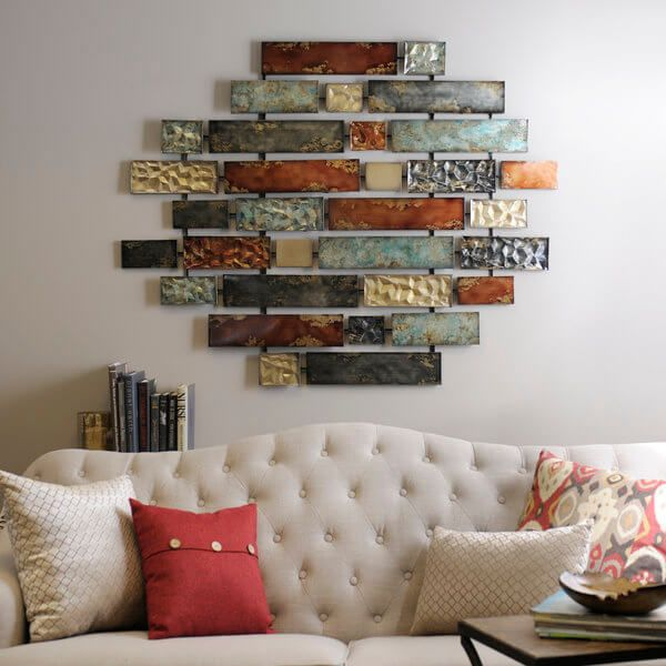 Wall Decor Quality Room Makeovers With Metallic