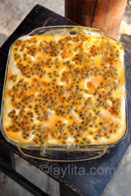Passion fruit tiramisu recipe: Tiramisu is an Italian dessert.