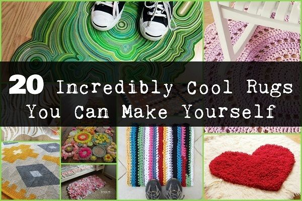20 Out Of This World Rugs You Can Make Yourself