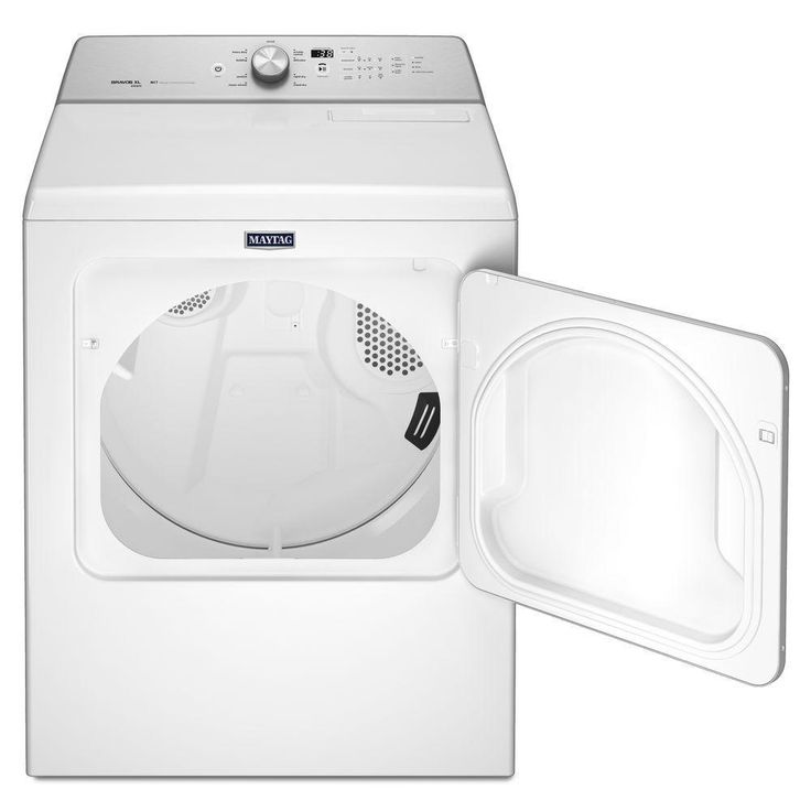 Maytag 7.0 cu. ft. Electric Dryer with Steam in White