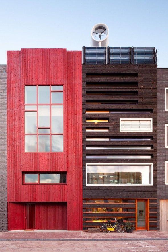 Houtskelet Gebouw par Faro Architecten & ZwartHout - Journal du Design