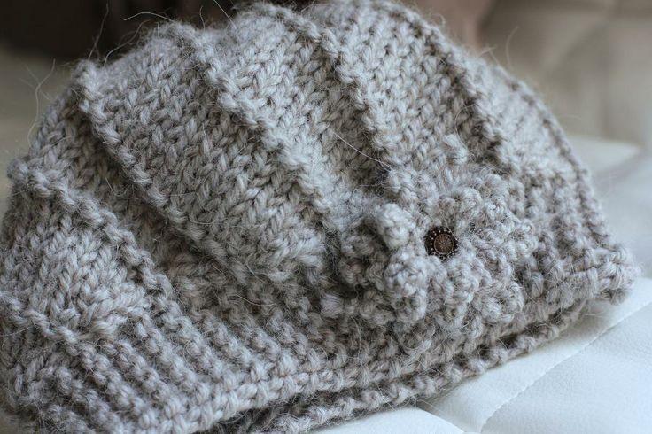 Knitting: Cool Wool Hat and Cowl Set ?*?HANDMADE?*? Pinterest