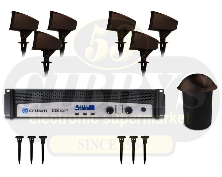 Klipsch Landscape Outdoor Speaker System.