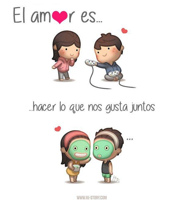 ¿Que es el amor? El amor es dificil de explicar, ya que cada uno expresamos los sentimientos de una manera. Incluso depende de nuestras vivencias co...
