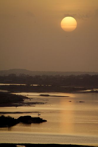 Sunset in Niamey, Niger   by Rodrigo A. Saucedo