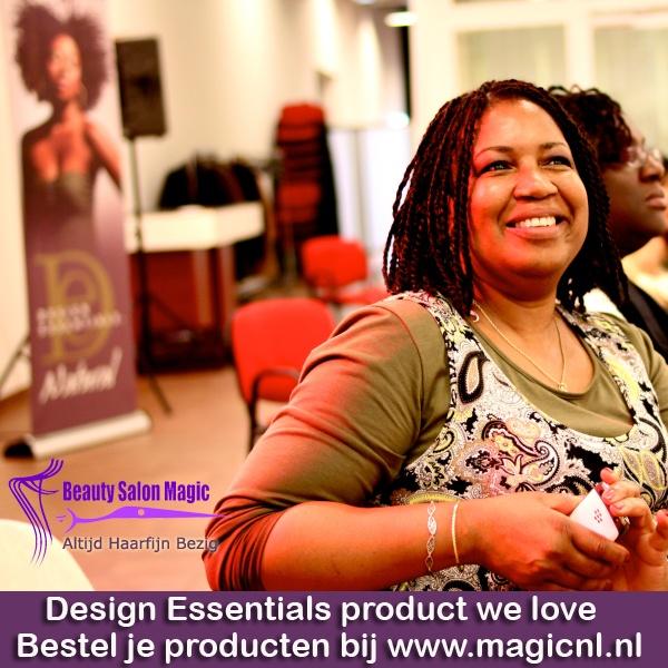 Design Essentials® Salon System bevat de meest efficiënte actieve ingrediënten die beschikbaar zijn om het haar gezond te houden en zijn natuurlijke schoonheid te tonen. Met Design Essentials® haarverzorging oplossingen kunt u het haar van uw klanten wassen, verzorgen, voeden en herstellen, zodat het haar glanzend wordt.  We begrijpen dat haarverzorging iets heel persoonlijks en gevoelsmatigs is.