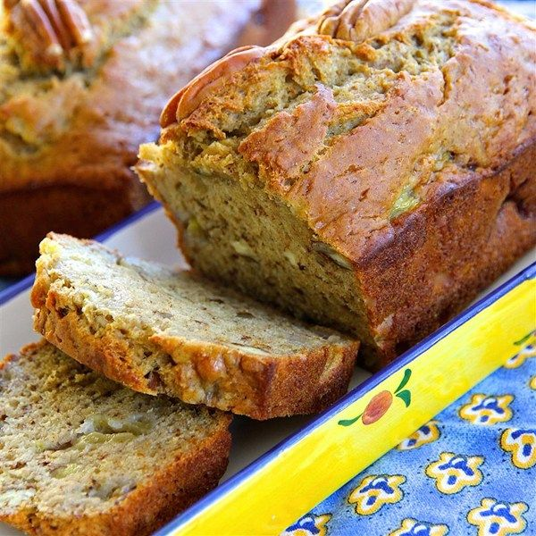 """Almost No Fat Banana Bread I """" It smelled so good while it was baking that my roommates couldn't even wait till the bread cooled before they scarfed it down."""""""