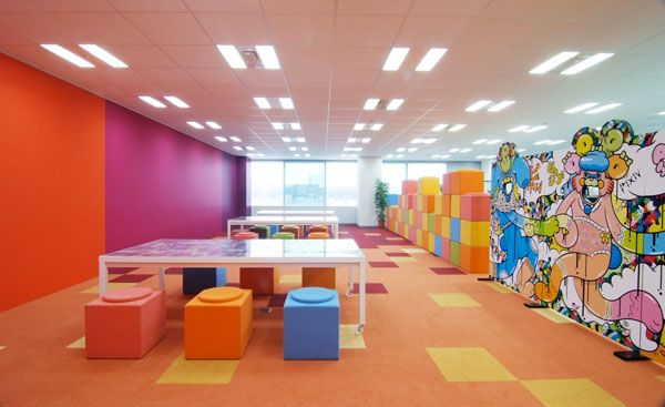 156 best images about colorful office design on pinterest for Office design and productivity