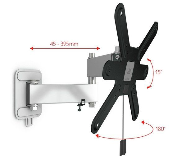 Buy One For All WM6251 Ultra Slim 13-42 Inch Turn 180 TV Bracket at Argos.co.uk, visit Argos.co.uk to shop online for TV wall brackets, TV stands and wall brackets, Televisions and accessories, Technology