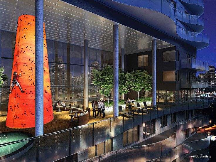 Your private box seats overlooking the Quartier des spectacles.   Le Peterson combines daring architecture and sophisticated design. Featuring luxurious condos and outstanding amenities, it is conveniently situated in the heart of one of Montreal's most vibrant and sought-after neighbourhoods...