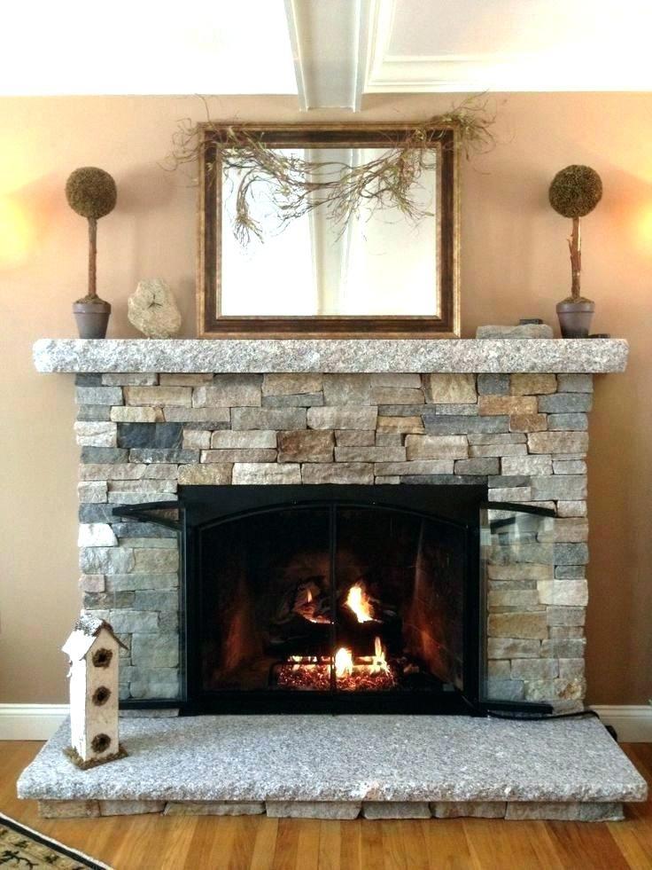 Elektro Kamin Shop Kaminofen Reface Fireplace Stone Veneer
