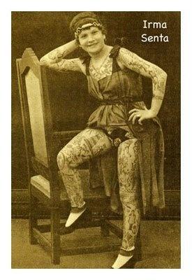 Women's Ink: Tattooed Women: The Early Years