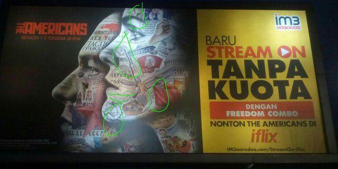 "Wow Ada Lambang Palu Arit Di Iklan IM3  Nusanews.com - Aparat kepolisian mengaku menemukan iklan berlambang dan berlogo komunis. Iklan milik salah satu perusahaan telekomunikasi itu terpasang di sekitar Lenteng Agung Jakarta Selatan. ""Kita sudah minta Pemkot setempat untuk mencopot iklan itu. Anggota kita di Polres Jaksel melaporkan provider sebuah perusahaan telekomunikasi yang iklannya itu ada gambar-gambar Palu Arit"" kata Kabid Humas Polda Metro Jaya Awi Setiono di Mapolda Metro Jaya…"