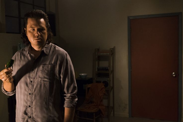 Josh McDermitt as Dr. Eugene Porter- The Walking Dead _ Season 7, Episode 11 - Photo Credit: Gene Page