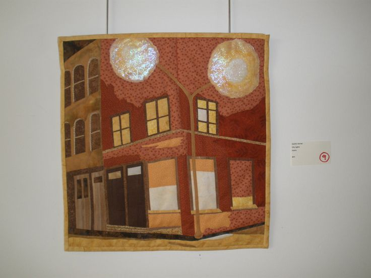 """City Lights"" by Sandra Sarner, Etobicoke Quilters' Guild"