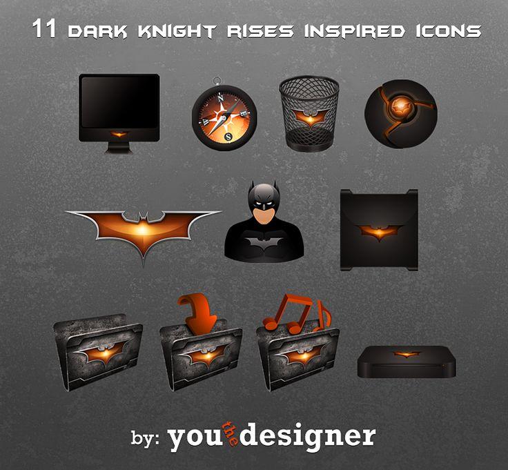 11 Dark Knight Rises Inspired Icons