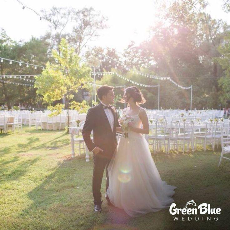 Muhteşem bahçesi veya kapalı salonuyla gerçekleştireceğiniz nikah töreninizde masallardaki gibi bir imza atın.  Görsel: @fidankandemirphotography İletişim: 0533 226 5338 #greenbluesapanca #wedding #kırdüğünü #düğün
