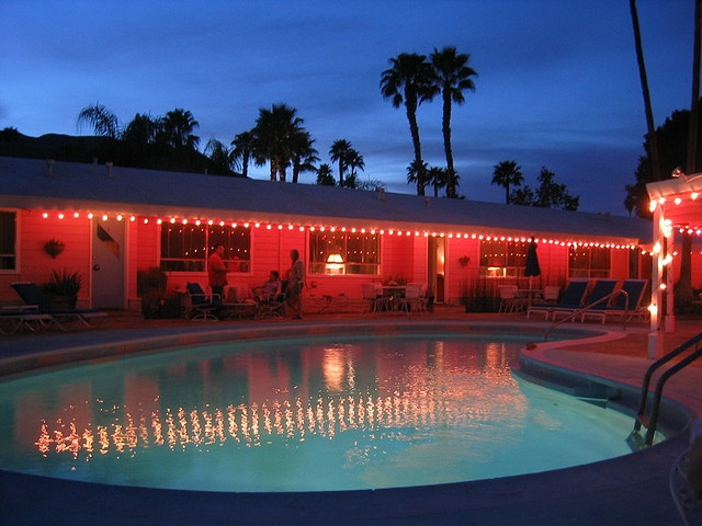 coral sands, the best little pink motel in #palmsprings.