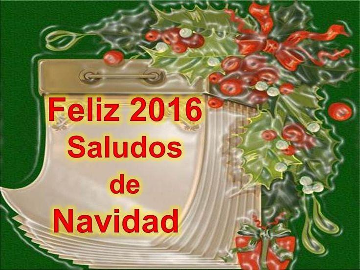 SALUDOS DE NAVIDAD Y AÑO NUEVO CON MUSICA   FELIZ 2016