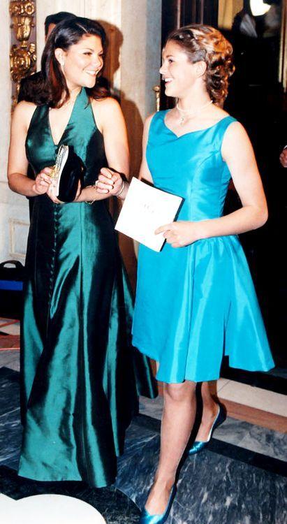 Crown Princess Victoria and Princess Madeleine