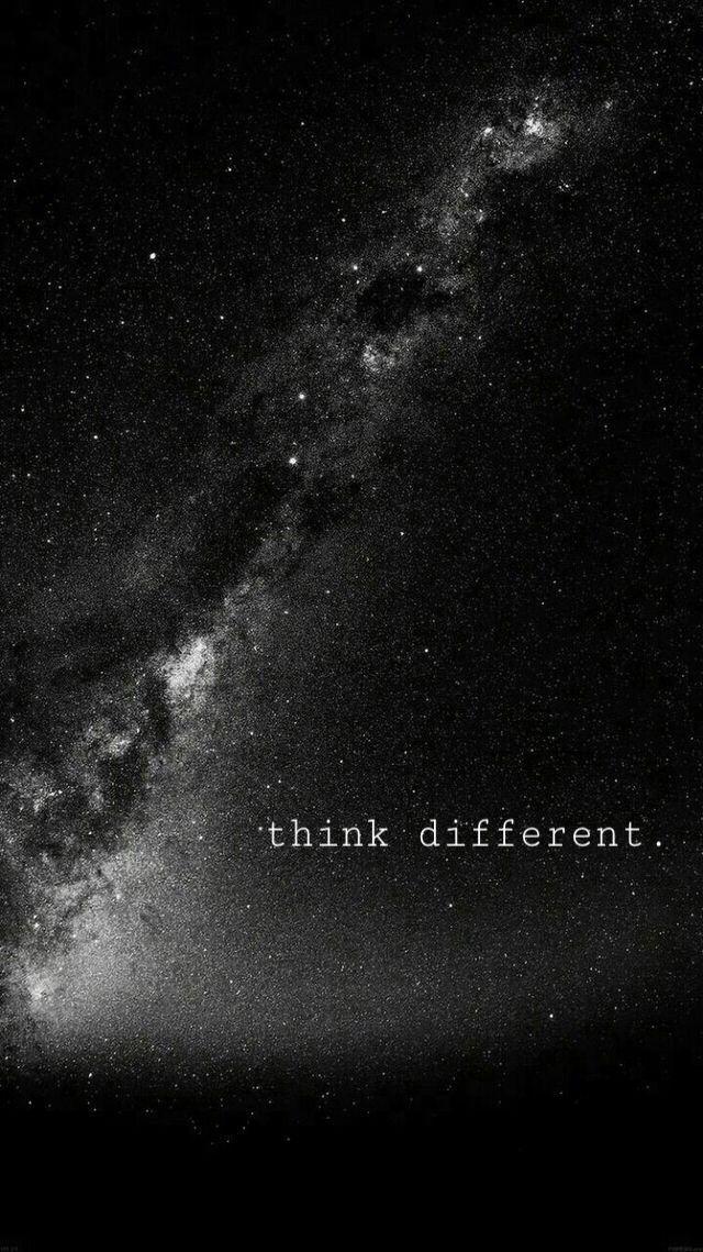 Piensa diferente. – Theresa