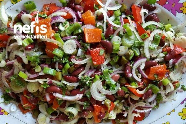 Meksika Salatası Tarifi nasıl yapılır? 888 kişinin defterindeki Meksika Salatası Tarifi'nin resimli anlatımı ve deneyenlerin fotoğrafları burada. Yazar: Hatice78