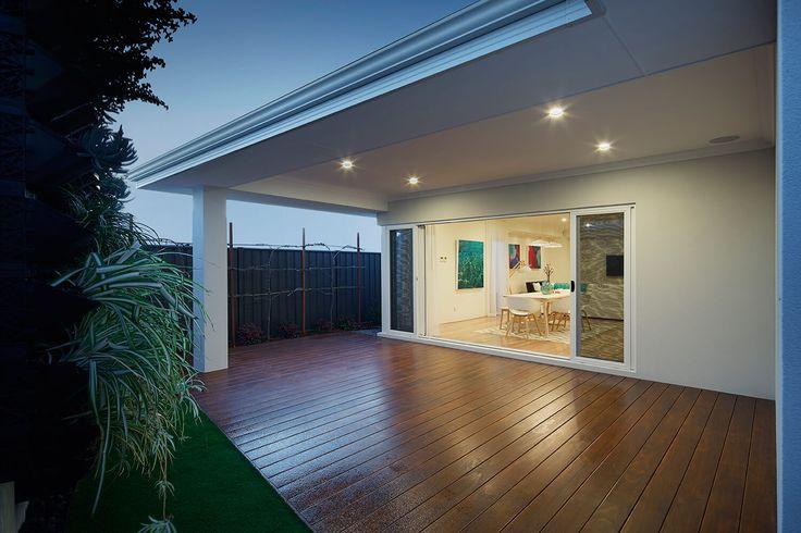 The Belvoir display home Hilbert, Perth. Alfresco