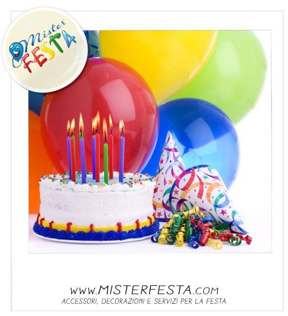 #decorazioni il must per il #party è rappresentato dalla #torta di #compleanno i #palloncini e gli #accessori per la fare #festa
