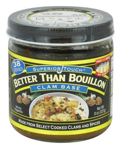 Better Than Bouillon Clam Base -- 8 oz Better Than ...
