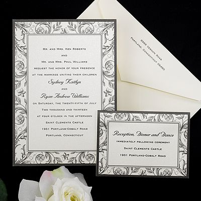 Birchcraft Studios: Invitations Site, Black French, Birchcraft Studios, Country Weddings, Country Wedding Invitations, French Country Wedding, Cheap Invitations, Invitations Cards, French Wedding