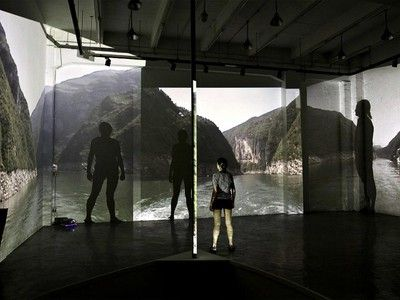 Artist's 'Three Gorges' Video Installation Takes Viewers Into a Disappearing Landscape