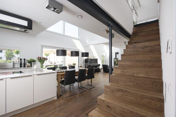 die besten 25 offene wohnk che ideen auf pinterest offene k che offene k chenschr nke und. Black Bedroom Furniture Sets. Home Design Ideas