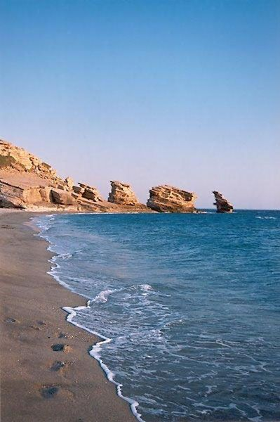 Triopetra beach in Rethymno, southern Crete