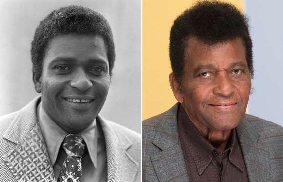 Charley Pride (1960, 2016) - Dezo Hoffmann/Rex Shutterstock; Taylor Hill/Getty Images